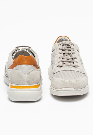 Geox Спортни обувки Sestiere с велур Мъже