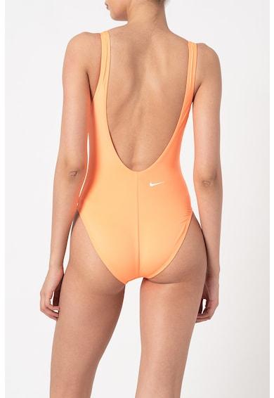 Nike Costum de baie intreg cu decupaj in U pe partea din spate Femei