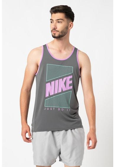 Nike Top cu imprimeu logo pentru plaja Barbati