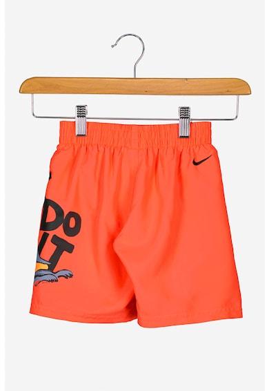 Nike Pantaloni scurti de baie cu imprimeu si talie elastica Baieti