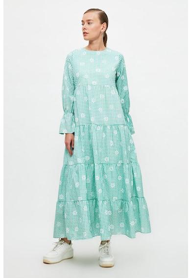Trendyol Десенирана разкроена рокля Жени