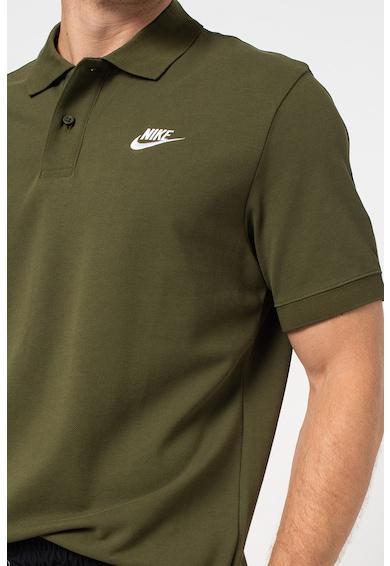 Nike Tricou polo de bumbac pique Matchup Barbati