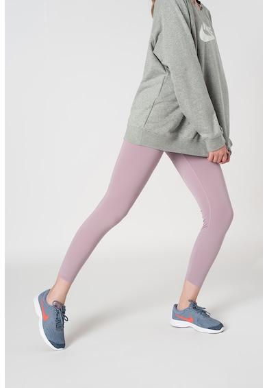 Nike Colanti 7/8 cu talie inalta si tehnologie Dri-Fit, pentru yoga Femei