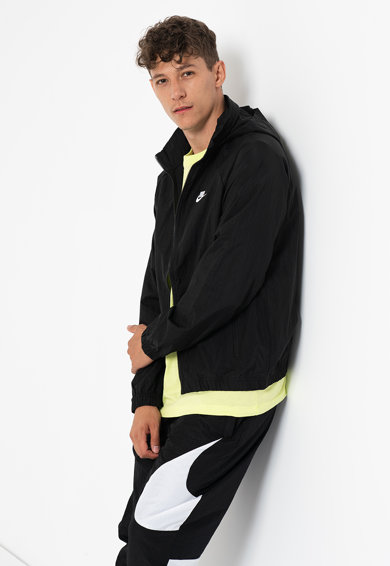 Nike Jacheta cu logo brodat Classic Core Barbati