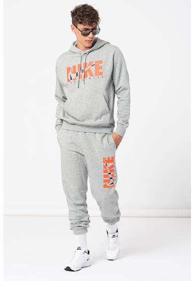 Nike Trening cu gluga si imprimeu logo Barbati
