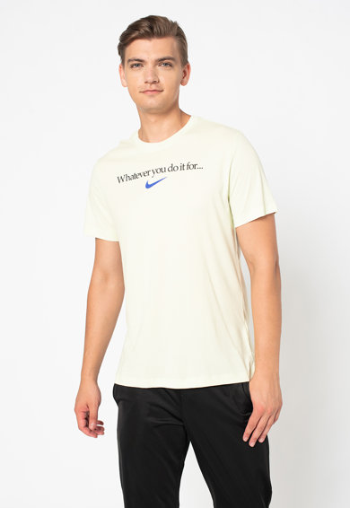 Nike Tricou cu imprimeu text Barbati