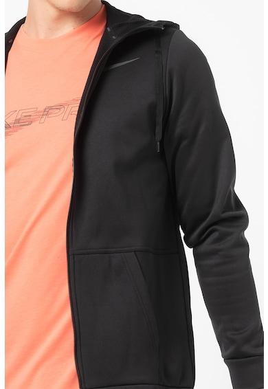Nike Therma kapucnis sportpulóver ferde zsebekkel férfi