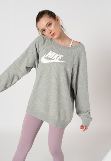 Nike Bluza sport supradimensionata cu imprimeu logo Femei