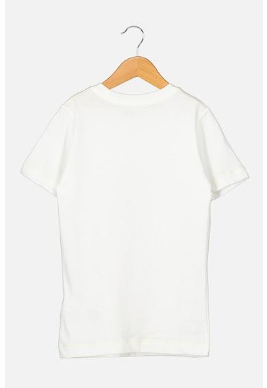 Nike Tricou de bumbac cu imprimeu text Baieti