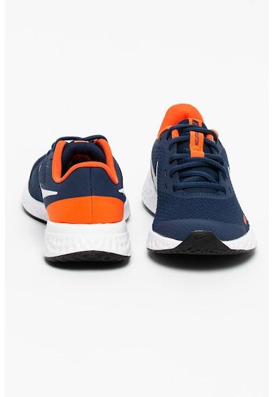 Nike Pantofi cu imprimeu logo pentru alergare Revolution 5 Fete