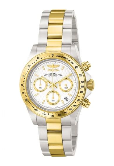 Invicta Иноксов часовник с хронометър Мъже