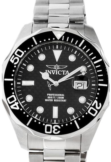 Invicta Кварцов часовник от инокс Мъже