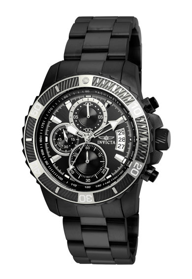 Invicta Матиран иноксов часовник с хронограф Мъже