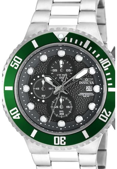 Invicta Часовник с хронограф и метална верижка Мъже