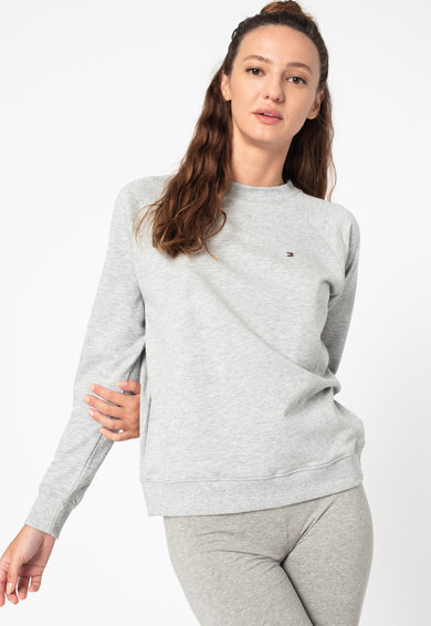 Tommy Hilfiger Bluza de pijama cu maneci raglan Femei