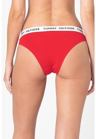 Tommy Hilfiger Organikuspamut tartalmú bugyi logós derékpánttal női