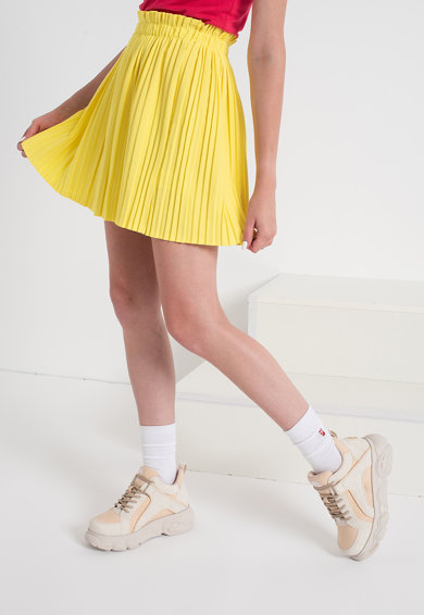 Haily's Fusta mini cu pliuri Lana Femei