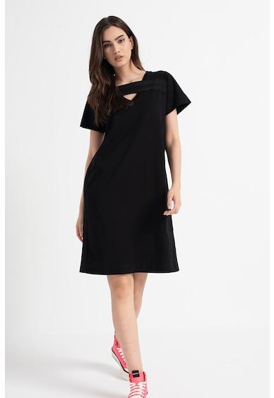 Diesel Rochie- tricou cu insertii texturate Femei