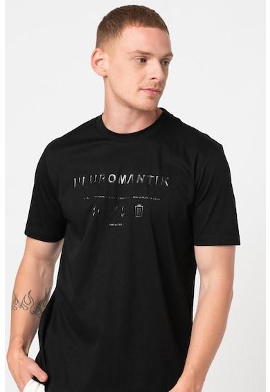 Diesel Tricou de bumbac cu imprimeu grafic T-Just Barbati