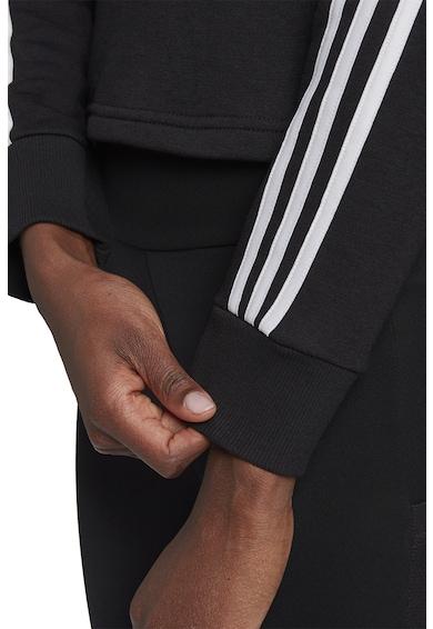 adidas Performance Hanorac crop cu logo brodat Essentials Femei