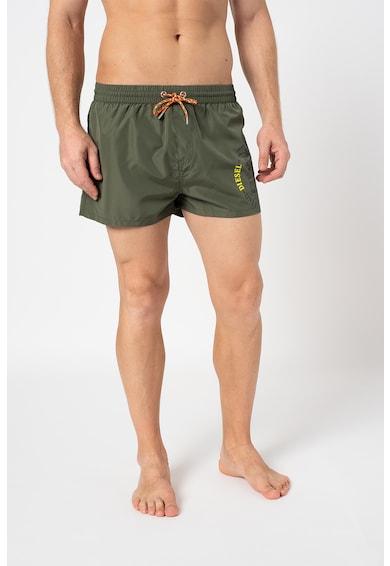 Diesel Pantaloni scurti de baie cu imprimeu logo Sandy Barbati