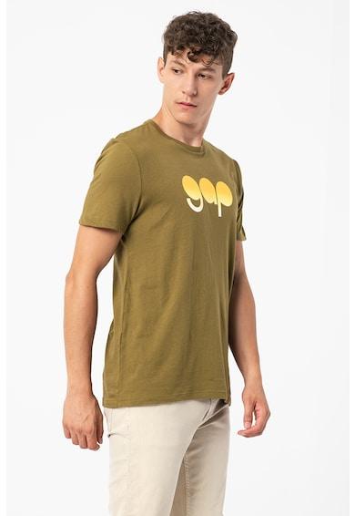 GAP Tricou de bumbac cu imprimeu logo Barbati