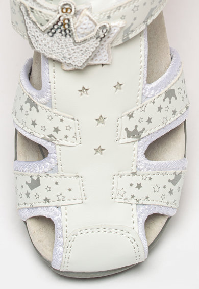 Lumberjack Sandale de piele ecologica cu imprimeu Linda Fete