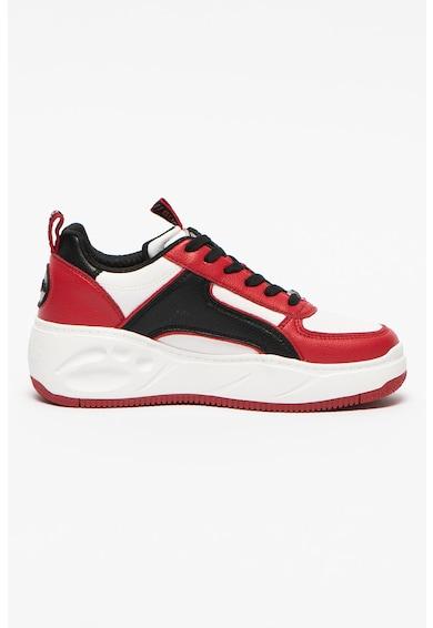 Buffalo Pantofi sport low-top din piele ecologica Flat SMPL 2.0 Femei