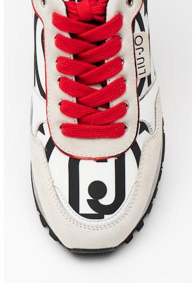 Liu Jo Pantofi sport cu insertii de piele intoarsa Wonder Femei
