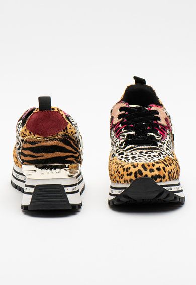 Liu Jo Pantofi sport de piele cu par scurt Wonder Femei