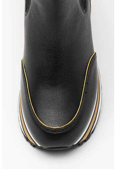 Liu Jo Ghete de piele cu segmente elastice laterale Maxi Wonder Femei