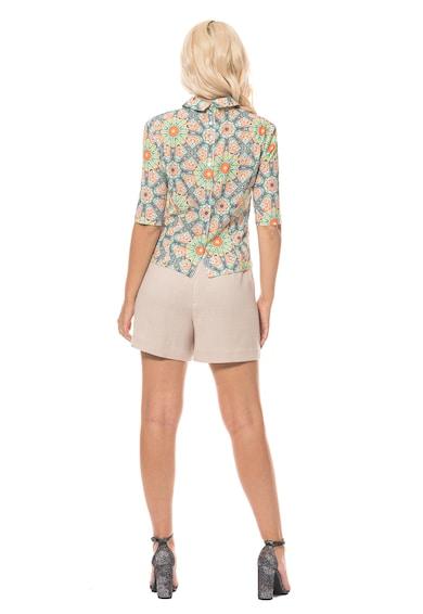 Minimalis Десенирана блуза с къси ръкави Жени