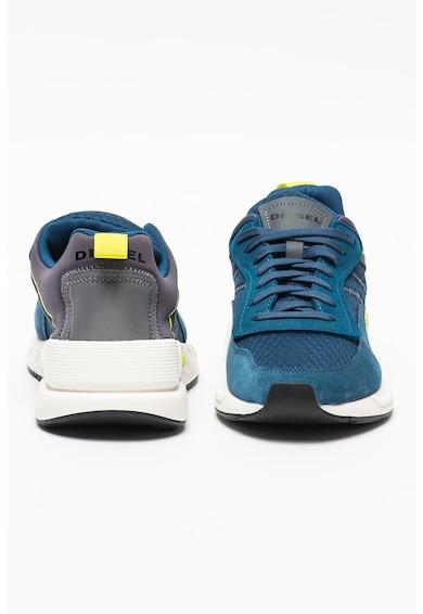 Diesel Pantofi sport cu garnituri din piele intoarsa ecologica S-Serendipity Barbati