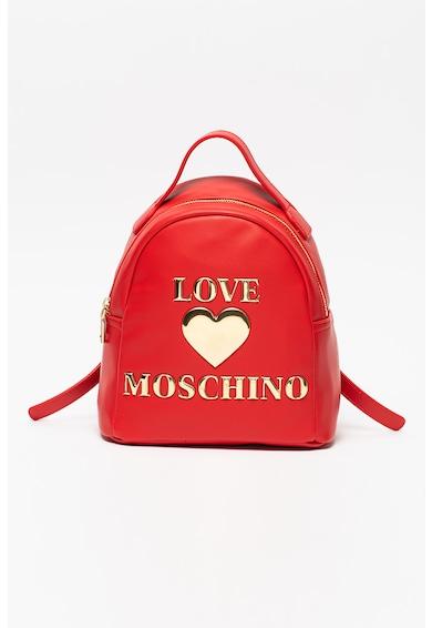 Love Moschino Rucsac din piele ecologica cu logo metalic Femei