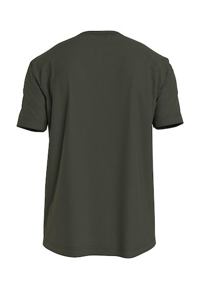 CALVIN KLEIN Tricou de bumbac organic cu imprimeu logo Barbati