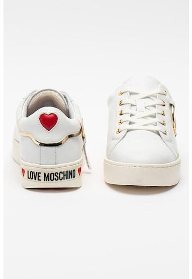 Love Moschino Pantofi sport din piele si piele ecologica Femei