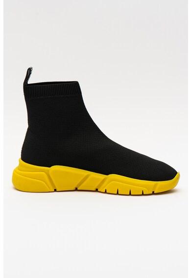 Love Moschino Pantofi sport slip-on cu detaliu logo Femei