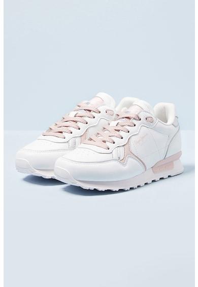 Pepe Jeans London Pantofi sport din piele ecologica Fete
