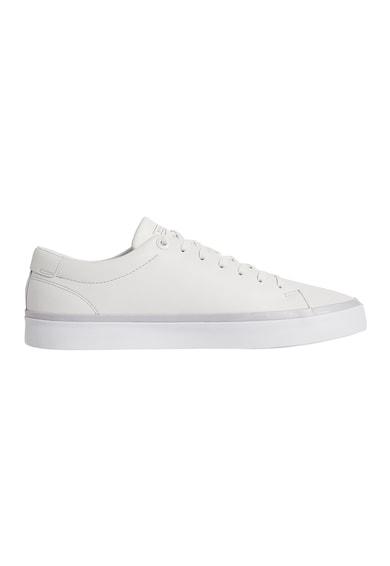 Tommy Hilfiger Pantofi sport de piele cu logo Barbati