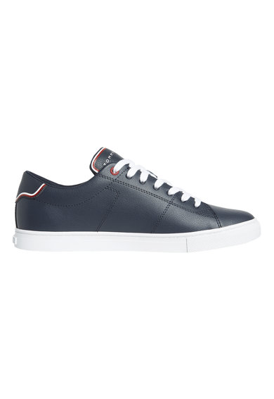 Tommy Hilfiger Pantofi sport low-cut de piele lacuita Barbati