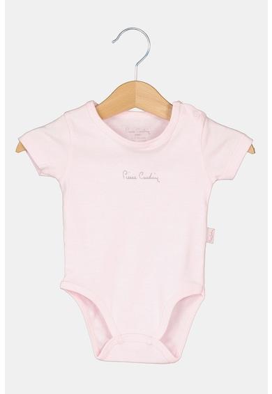 Pierre Cardin Baby Body din bumbac cu broderie logo Fete
