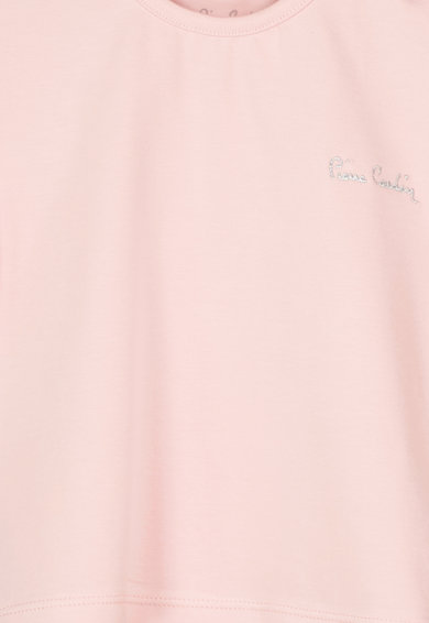 Pierre Cardin Baby Tricou din bumbac cu broderie logo Fete