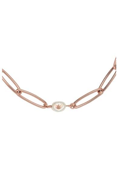 Emporio Armani Colier de lant cu perle Femei