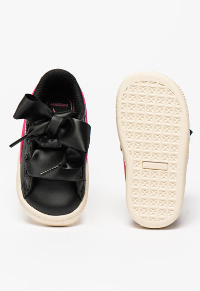 Puma Basket Heart gumis bőrsneaker Lány