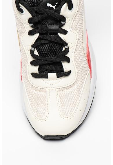 Puma Pantofi sport cu garnituri de piele ecologica Cilia Femei