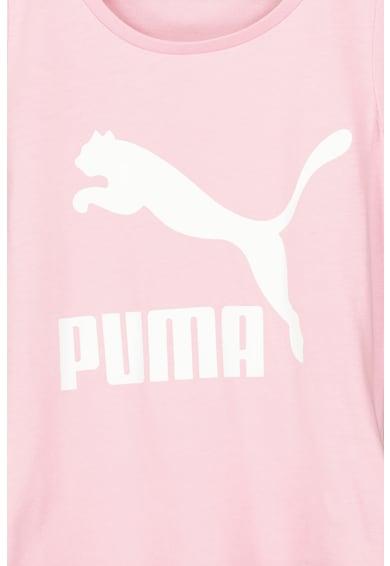 Puma Classics kerek nyakú logós póló Lány
