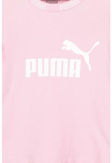 Puma Amplified kerek nyakú logómintás póló Lány