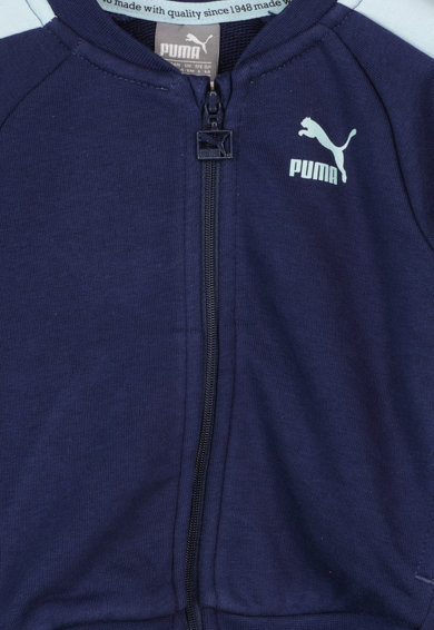 Puma Trening cu fermoar si logo Baieti