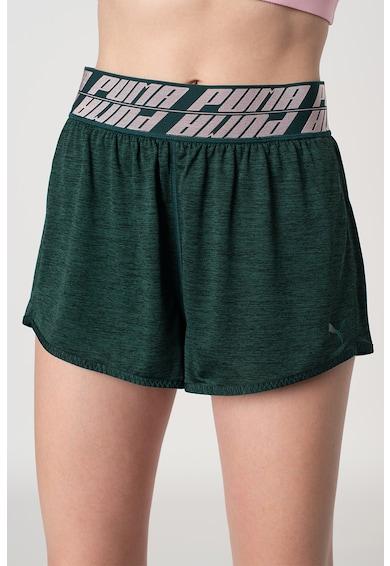 Puma Pantaloni scurti cu banda logo in talie si tehnologie dryCELL, pentru fitness Own It Femei