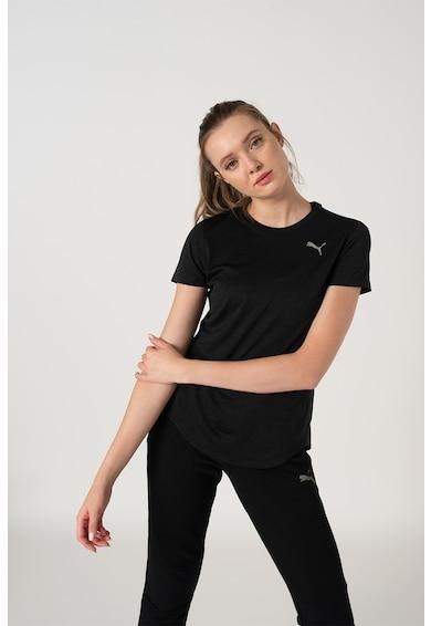 Puma Kerek nyakú sportpóló logós részlettel női